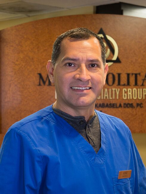 Jose at Metropolitan Dental Specialty Group
