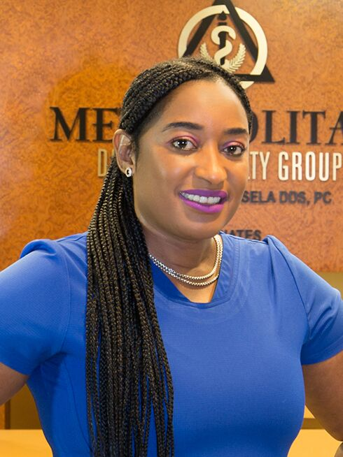 Khady at Metropolitan Dental Specialty Group