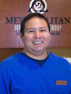 Juan at Metropolitan Dental Specialty Group
